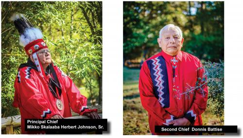Alabama Coushatta Tribal Chief