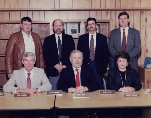 School board 1988-89