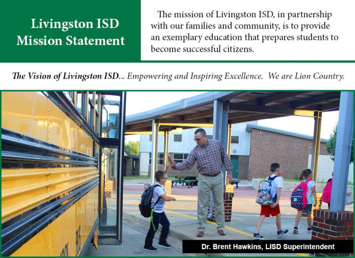 Superintendent - Mission Statement