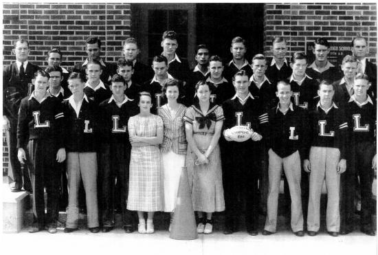 1934 Lions Football Team