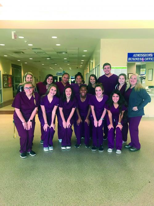 Pharmacy Tech students at LHS