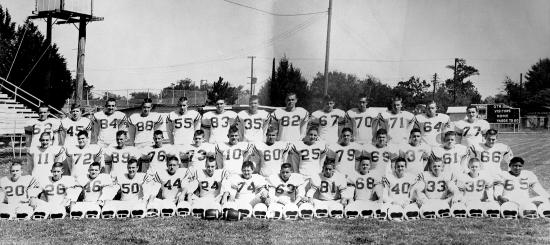 1961Lions Football Team