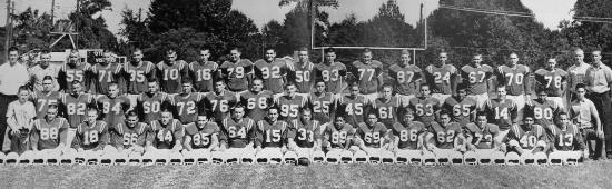 1962Lions Football Team