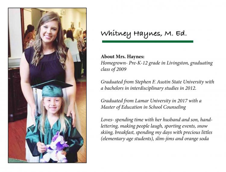 Whitney Haynes Bio