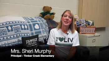 Mrs. Murphy reviews changes at TCE