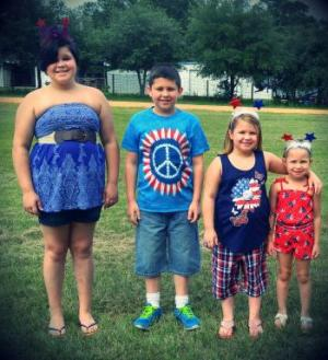 The Clark Kids July 4th,2016