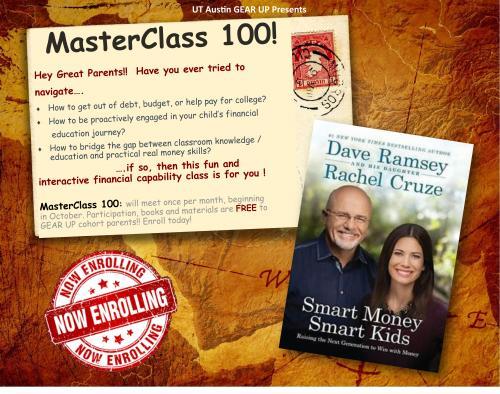 MasterClass Flyer English
