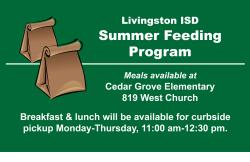 LISD Summer Feeding Program