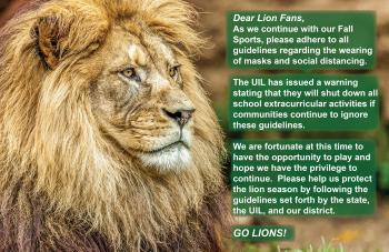 Dear Lion Fans - We Need Your Help!