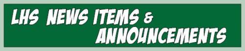 LHS News Items & Announcements
