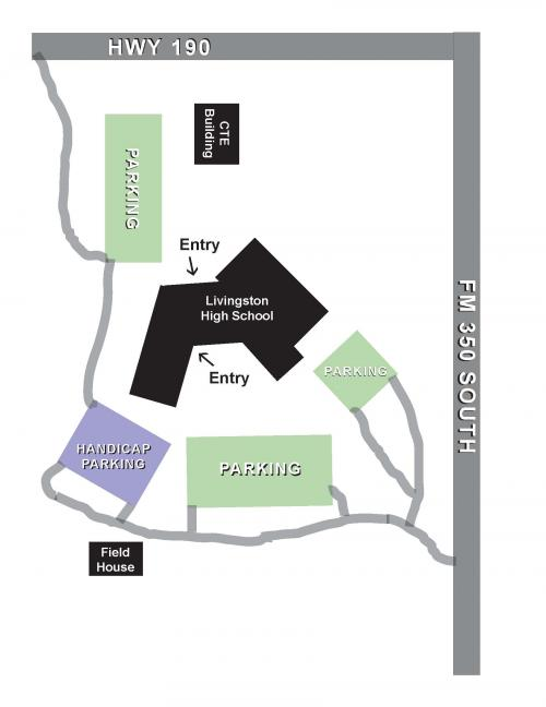 LHS Parking Map
