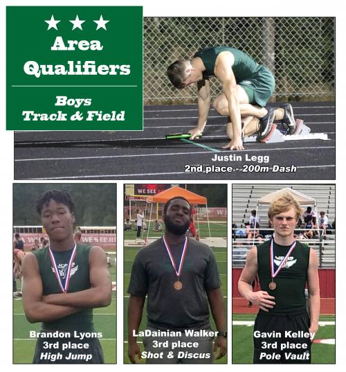 Boys Track & Field Area Qualifiers