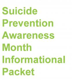 Suicide Prevention Information Packet