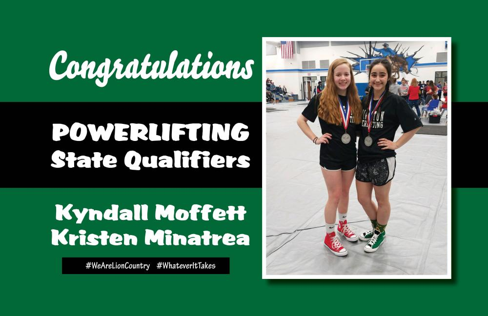 Powerlifting State Qualifiers