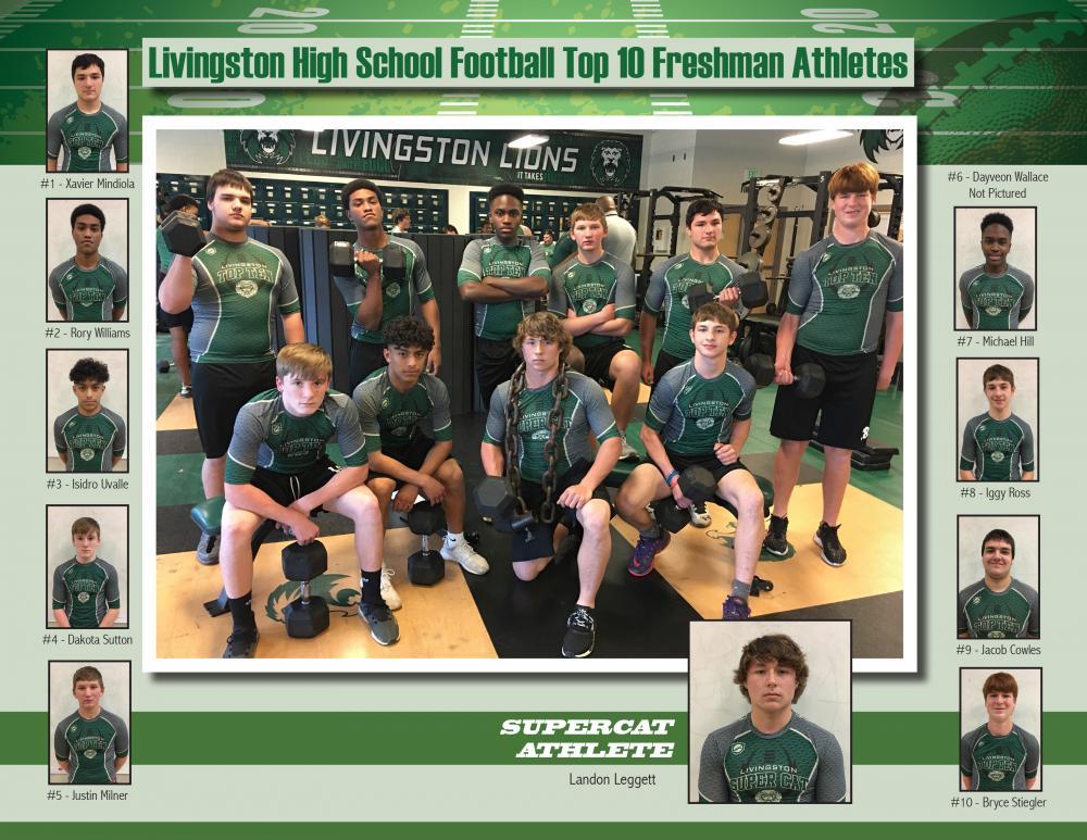 Top 10 Athletes - Freshman