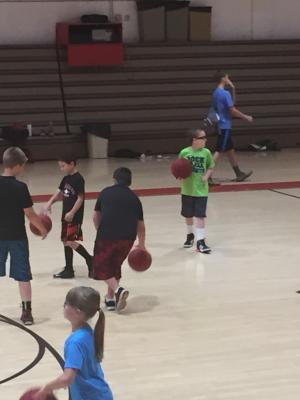 Basketball Camp was cool!