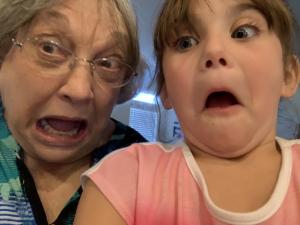 Silly time with Grandma Katy