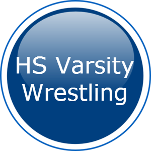 HS varsity wrestling button