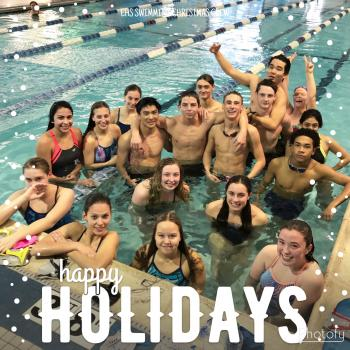 The EHS swimmers are starting Christmas break off right with an awesome workout!
