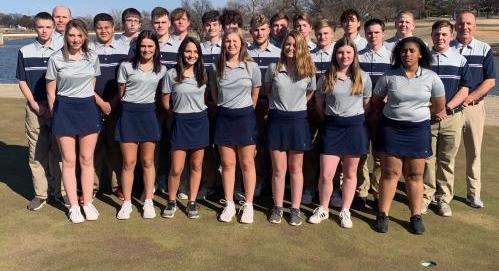 Golf Team Photo Feb 2020
