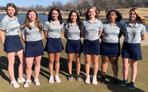 Golf Girls Team photo 2020