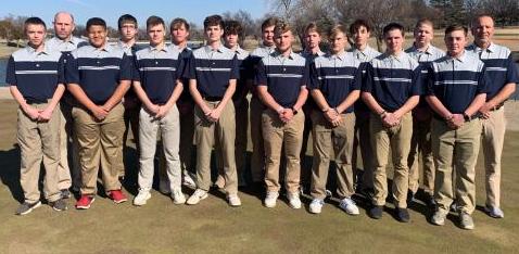 Golf Boys Team photo Feb 2020