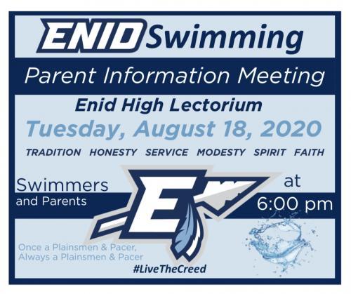 Parent information meeting 2020