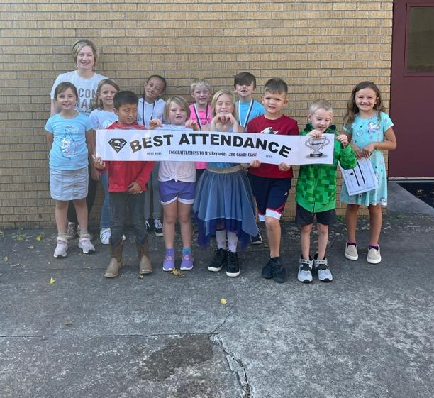 Best Attendance for the 1st 6 Weeks