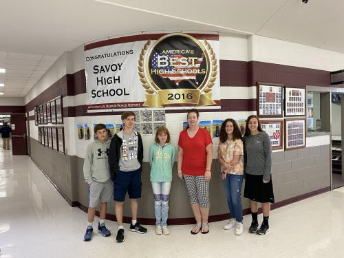 HS Students/Staff of the Week 7