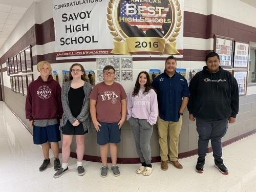 HS Students/Staff of the Week 6