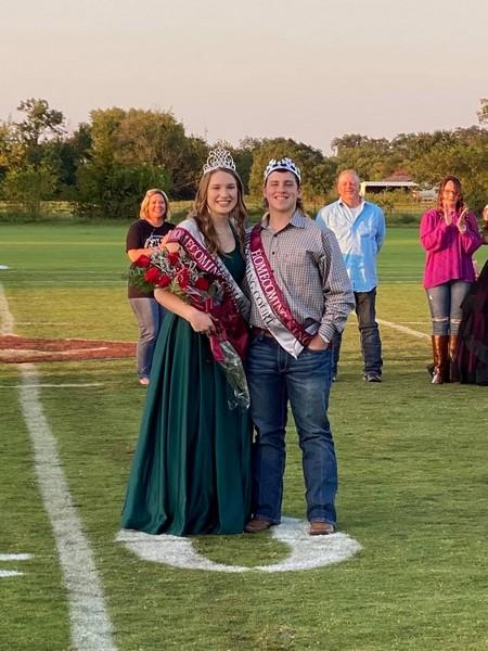 Savoy High School Crowns 2020 Homecoming King and Queen