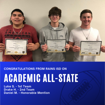 Student Athletes Make Academic All-State