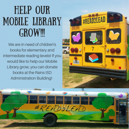 Help our Mobile Library Grow