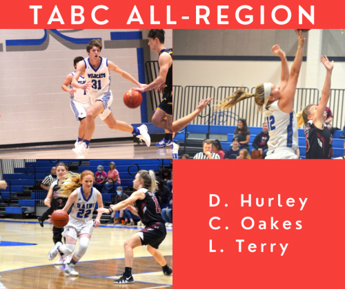TABC All-Region Athletes: Drake Hurley, Chanlee Oakes, Leo Terry