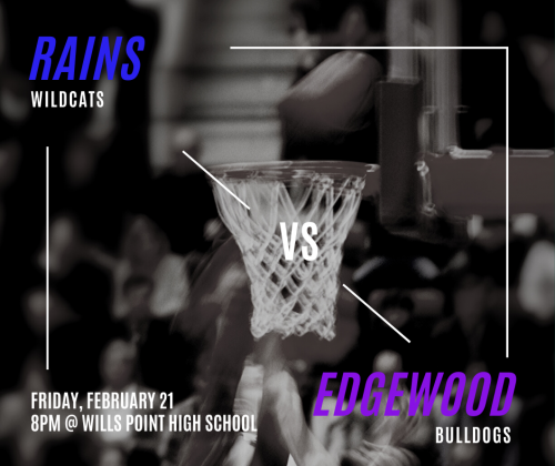 Boys basketball  - Friday at 8 in Wills Point.
