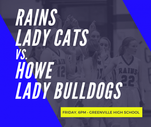 Girls Basketball - Friday at 6 in Greenville