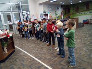 Mrs. Covey's Class singing Christmas songs