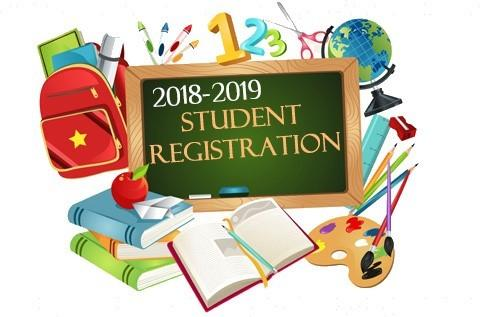2018-19 student registration