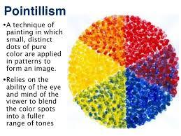 Pointillist Color Wheel