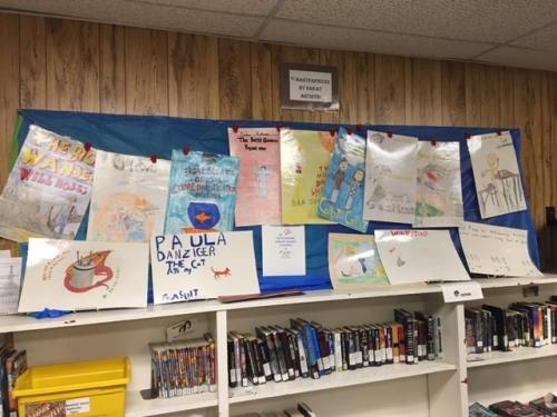 artwork from students