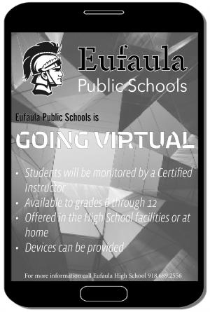 eufaula going virtual
