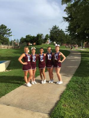 UCS All American Cheerleaders 2015