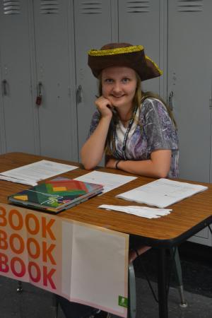 2017 Yearbook Editor Kristin Phelps
