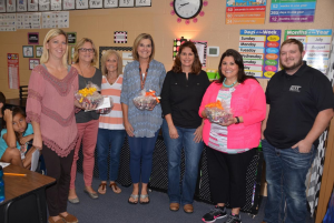 TES Library receives K-2 Book Grant
