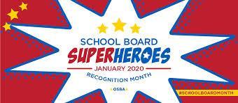 School Board Super Heroes