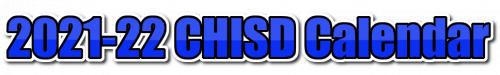 2021-22 CHISD Calendar