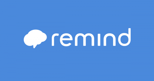 Sign up for Remind!
