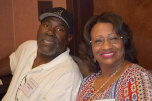 Kathy and her husband, Adrian Allen Jr.