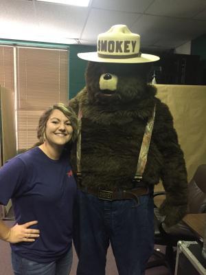 We LOVE Smokey Bear!