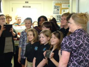 NTCC Choir wins overall Large Ensemble Plaque at the TFMC Jr. Festival at Baylor University